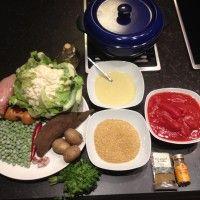 Kip groente curry met Yacon