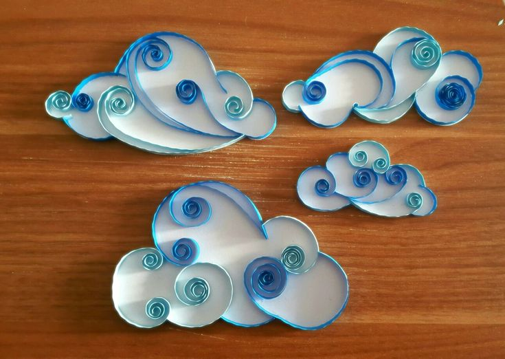Nuvole quilling