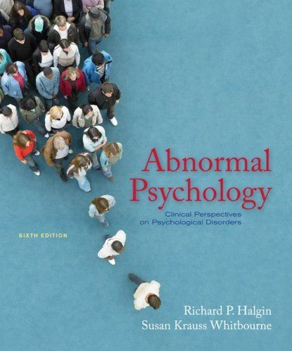 7 best personality stuff images on pinterest personality abnormal psychology clinical perspectives on psychological disorders by richard halgin http fandeluxe Images