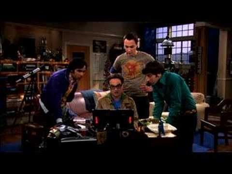 ▶ The Big Bang Theory - A Time-Share Time Machine - YouTube