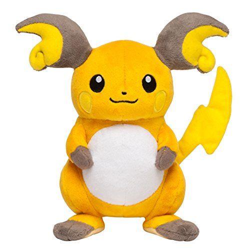 Pokemon Center Original Plush doll Raichu OA Pokémon http://www.amazon.com/dp/B00VUQ00EE/ref=cm_sw_r_pi_dp_3rjMvb11EV5DH