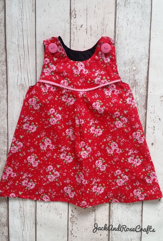 Check out this item in my Etsy shop https://www.etsy.com/uk/listing/498104653/girls-red-dress-floral-dress-red