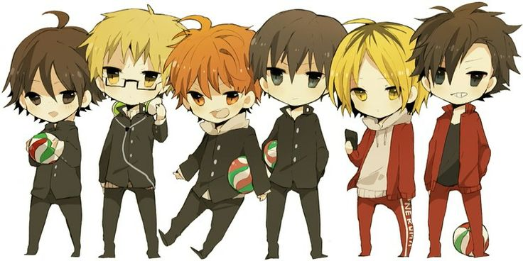 Haikyuu!! so cute! Haikyuu! ** Pinterest Chibi