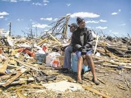 Tornado Damage in Tuscaloosa......