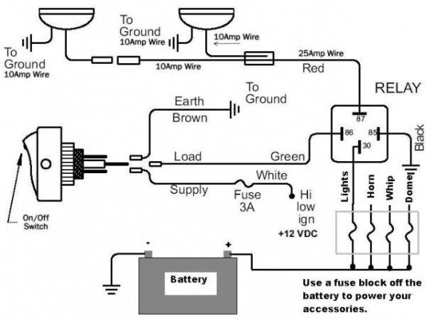 Pin On Led Light Bar Wiring, Led Lights Wiring Diagram