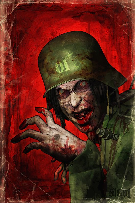 The BlutKruez Korps' search for eternal life leads to the invention of the Wiederbelebungsserum (Reanimation Serum) and the creation of combat-ready zombies of steadily increasing sophistication.