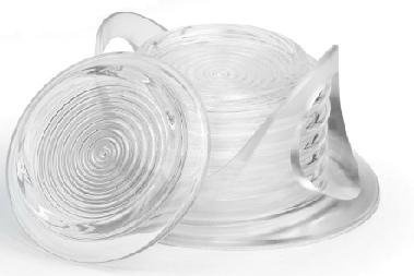 Qualy Plastic Drink Coasters (clear) $12.00