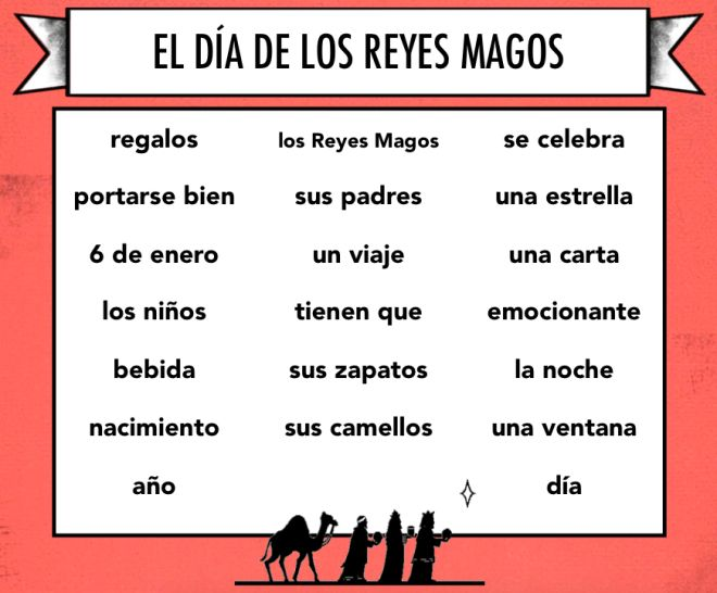 I received a wonderful Christmas gift from one of my readers: a reading about El Día de los Reyes Magos to share with you!! After a fun game of strip bingo to celebrate El Día de los Muertos, Aimee...