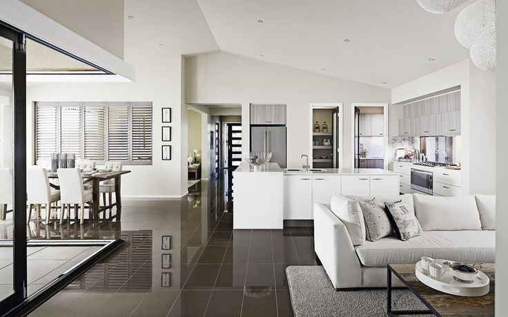 The Emmerson Home - Metricon love the window splashback and the open feel to it