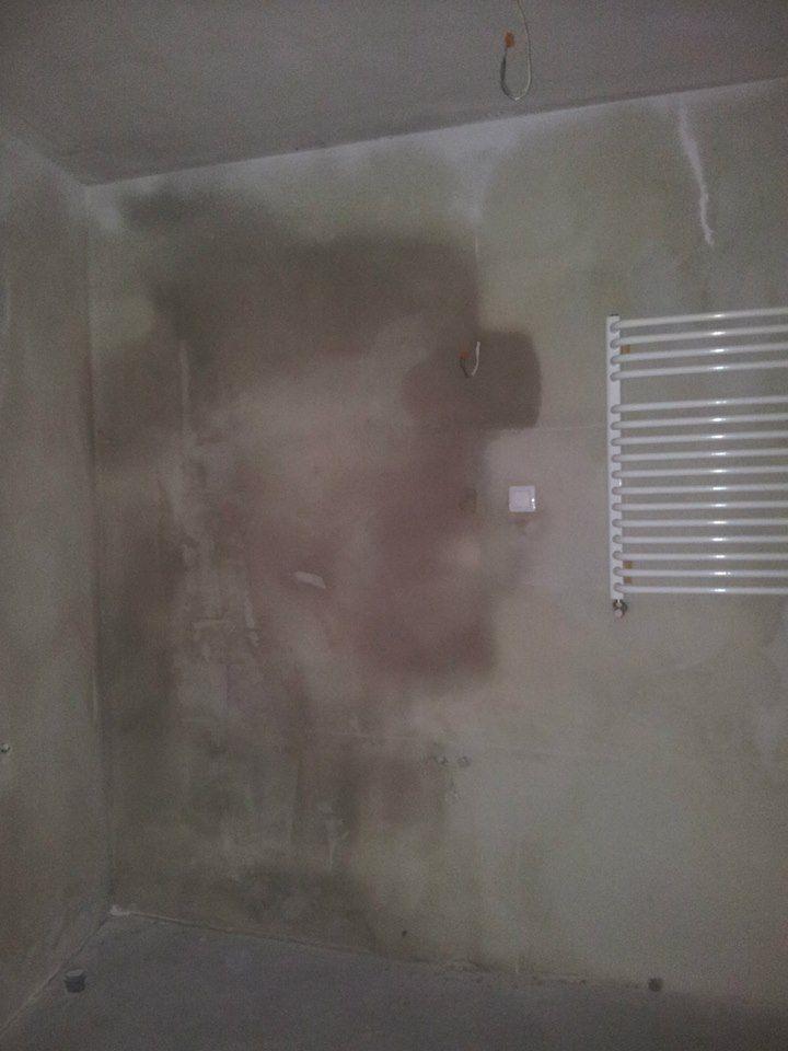 mokra ściana - odbiór mieszkania Kraków