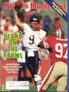 1985 Jim McMahon Chicago Bears Sports Illustrated . $9.95. 1985 Jim McMahon (Chicago Bears)