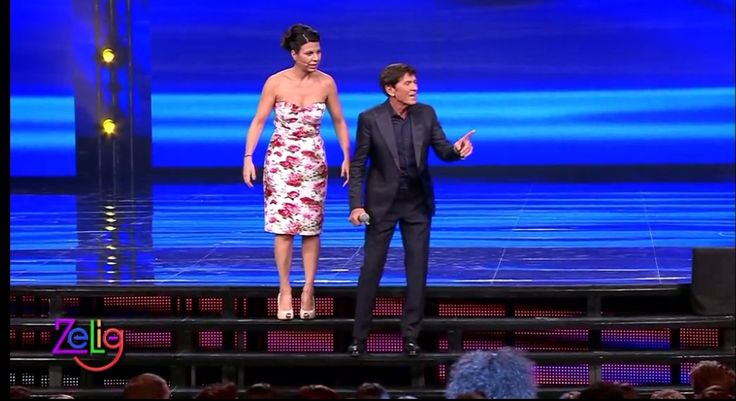 Elegance meets fun. Comic Geppi Cucciari wearing Fabi shoes during a Zelig episode with Gianni Morandi. Shop the shoes on Amazon http://bit.ly/1CKUBAt or at first store at South Ex-1 #Delhi