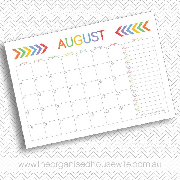 April Calendar List : Free monthly calendar pages with to do list