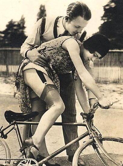1920 giarrettiera bici vintage