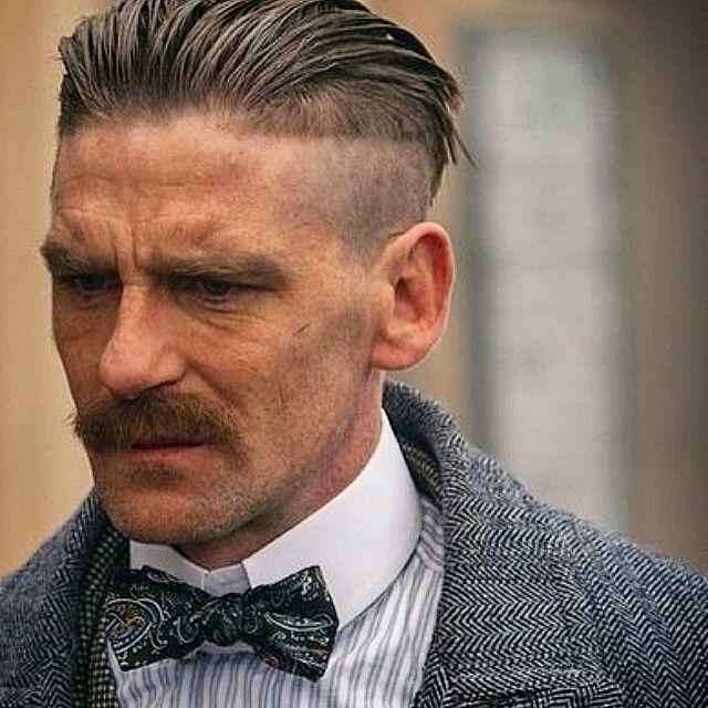 Arthur Shelby Peaky Blinders Haircut Peaky