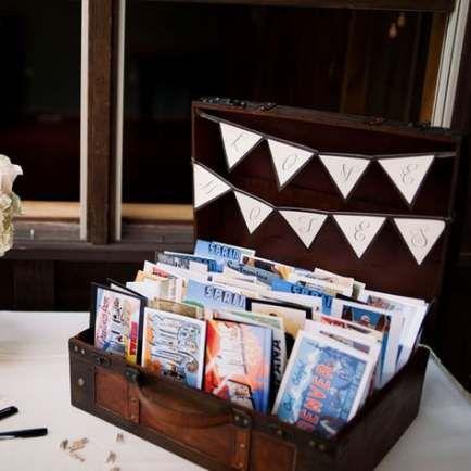 Wedding Card Box Travel Postcard Guestbook 62+ Ideas