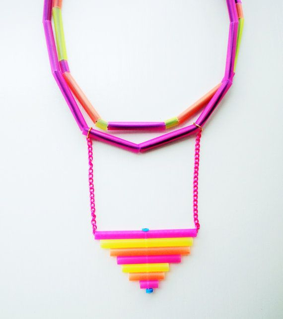 summer necklace summmer jewelry multistrand necklace by Jiakuma