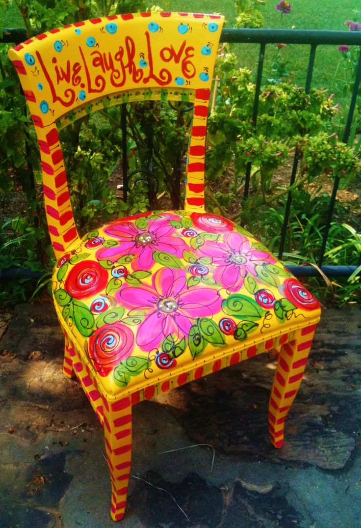 Funky painted furniture ideas - Find This Pin And More On Chairs