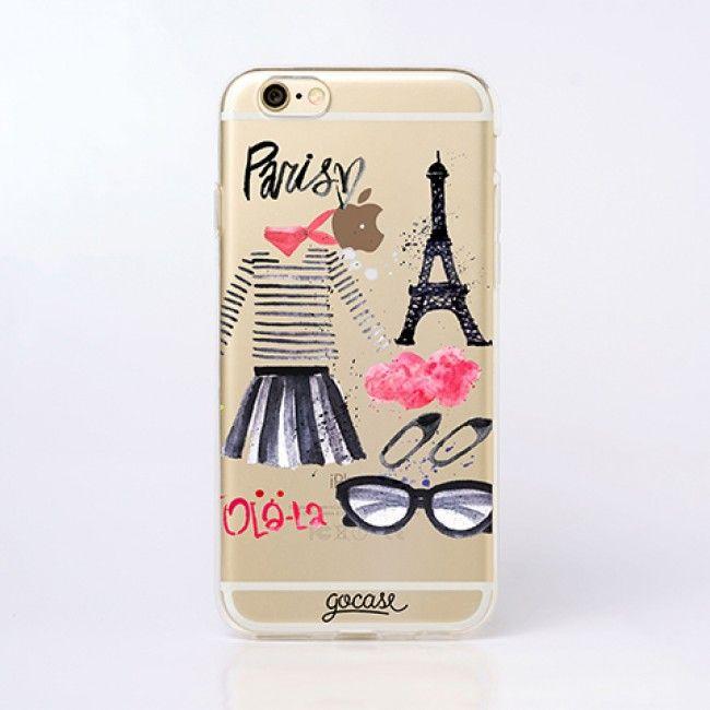 Capinha para celular Uh Lálá Paris