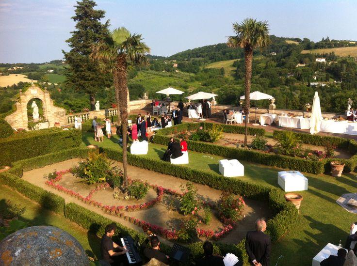 Italian Wedding! #italy #wedding #garden #summer