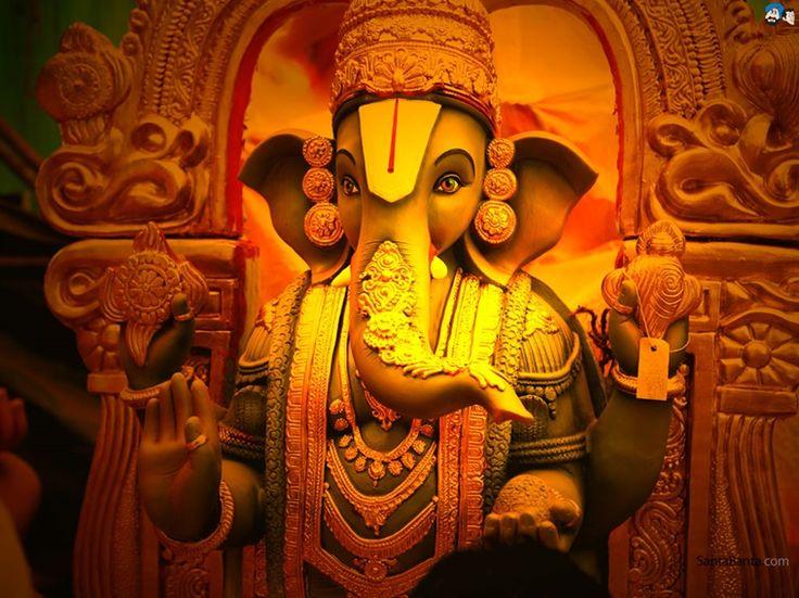 Ganesh Ki Jyoti Se Noor Miltahe, Sbke Dilon Ko Surur Milta He, Jobhi Jaata He Ganesha Ke Dwaar, Kuch Na Kuch Zarror Milta He, Jai Shri Ganesha.!