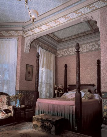 Bradbury & Bradbury Art Wallpapers > Victorian > The Morris Tradition > Morris Tradition Roomset