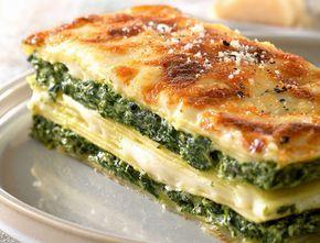 Avec les lectrices reporter de Femme Actuelle, découvrez les recettes de cuisine des internautes : Lasagnes ricotta-épinards