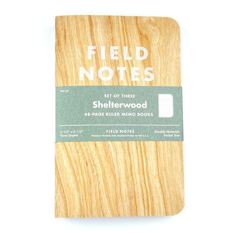 Field Notes Shelterwood