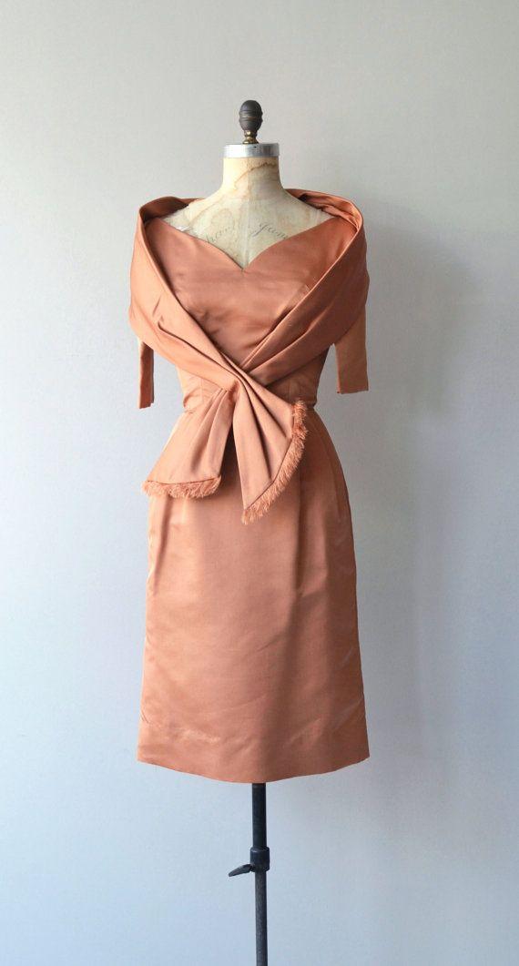 25% OFF SALE Luca Della dress vintage 1950s dress by DearGolden