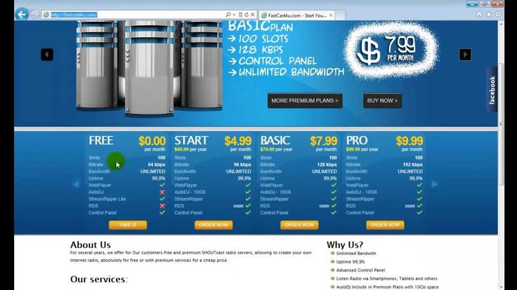 How to make a FREE internet radio station - April 2013