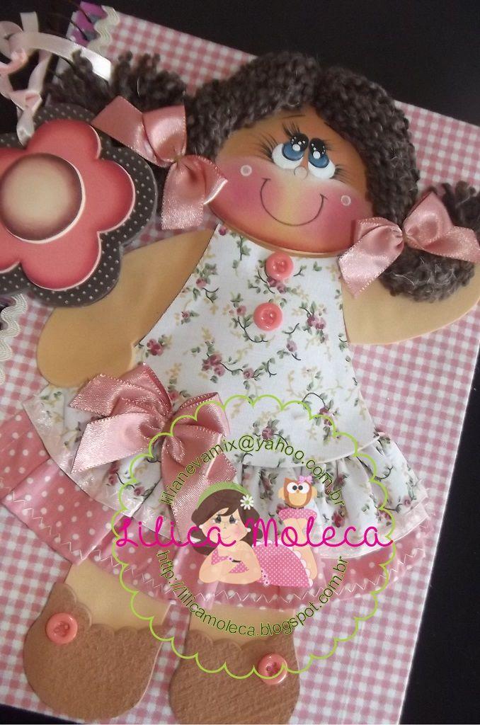 Lilica Moleca-Caderno decorado com tecido e eva. https://www.facebook.com/LilicaMoleca?fref=ts