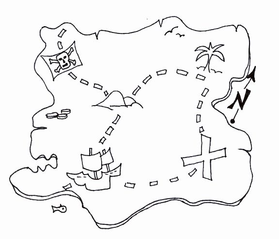 It's just a picture of Printable Treasure Map Template throughout grid