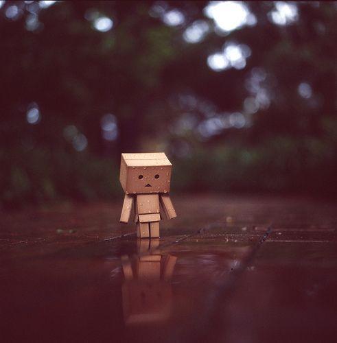 Sad Little Box Man