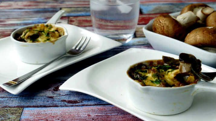 Грибы, запеченные с баклажанами - вкусные рецепты для вашей семьи - Закуски | Люблю готовить