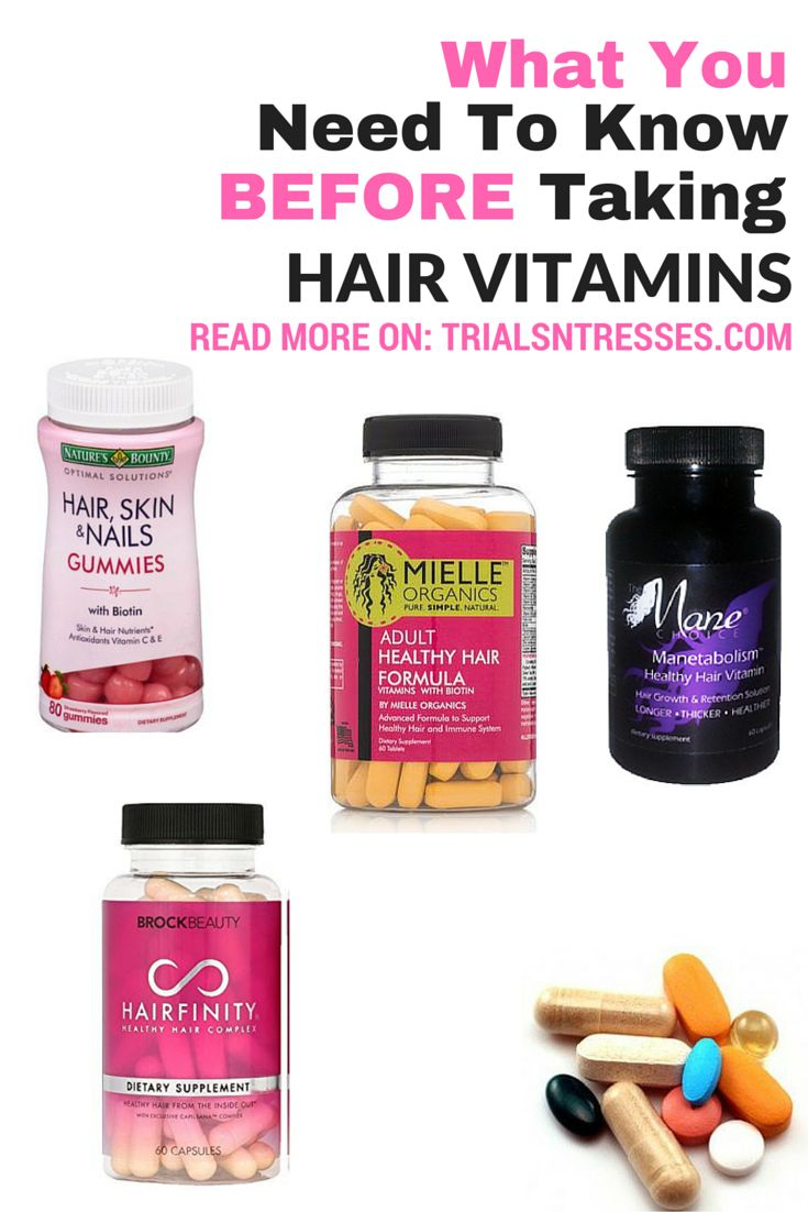 What You Need To Know Before Taking Hair Vitamins