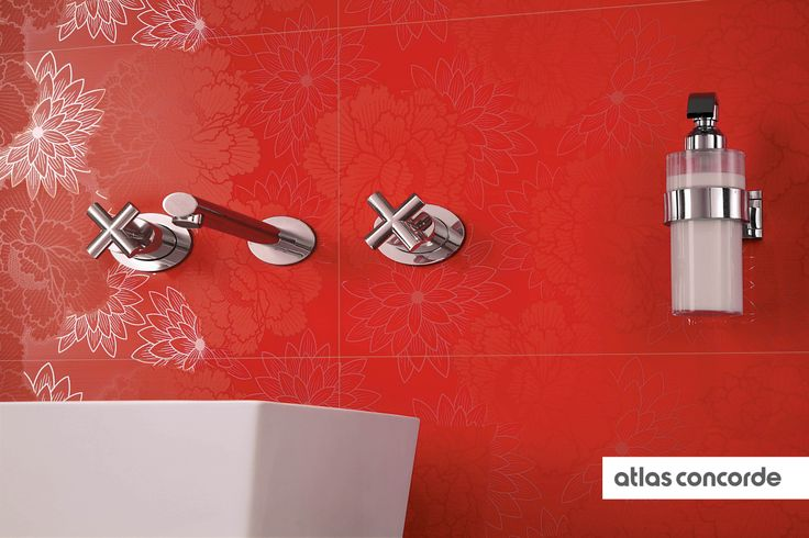 #ADORE flame | #Flowers | #AtlasConcorde | #Tiles | #Ceramic