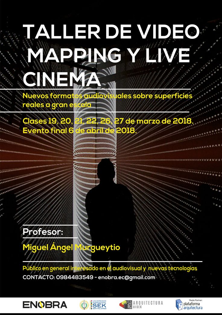 ENOBRA: Taller de video mapping y live cinema