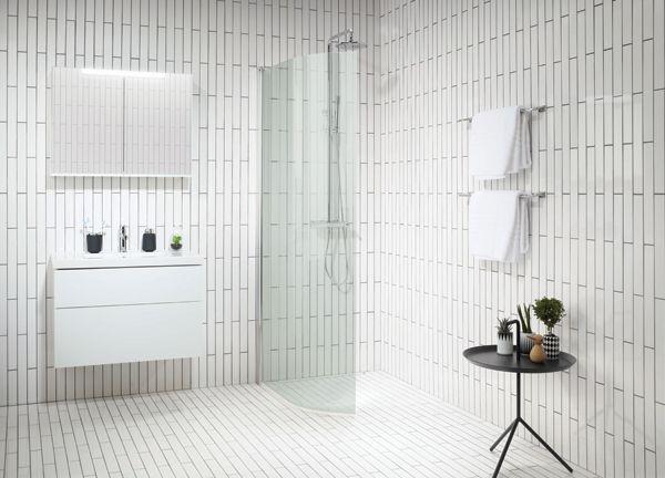 LINC Josephine är världens första Svanenmärkta duschvägg. Från INR.