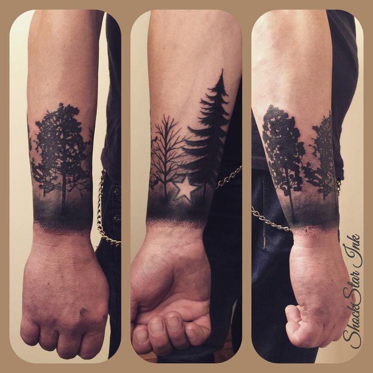 treetattoo black/grey tree tattoos