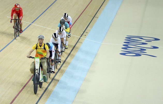 The Rio 2016 Volunteer Who Sets The Pace In The Olympic Velodrome