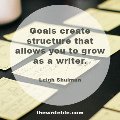 Find yourself at a standstill with your writing? Here's how to create goals that will have you quickly moving forward.