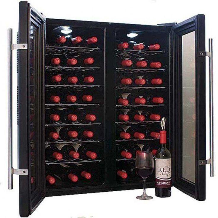 #винный #холодильник #Cavanova CV048-2T  Цена 78900 рублей Винный шкаф Cavanova CV048-2Т спроектирован очень оригинальным образом. Несмотря на достаточно большую вместимость (48 бутылок), он занимает немного места и отлично вписывается в самые небольшие помещения, а две распашные дверцы упрощают доступ к вину и очень необычно дополняют интерьер.   Купить  http://shop.webdiz.com.ua/goods/vinnyj-holodilnik-cavanova-cv048-2t/