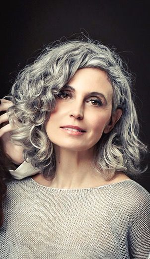 Beautiful short curly hairstyles for women over 60  #beautiful #curly #hairstyle…