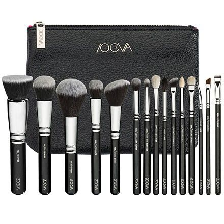I want this Zoeva Makeup Brush Set. I love that each handle tells you what that brush is used for!