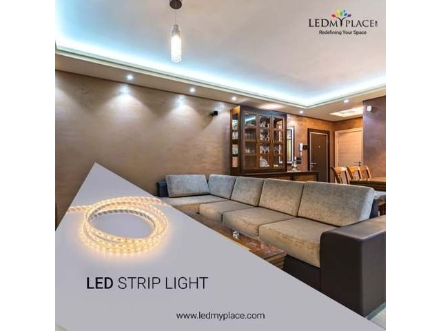 Install Waterproof Led Strip Lights To Decorate The Place Strip Lighting Led Strip Lighting Multi Color Led