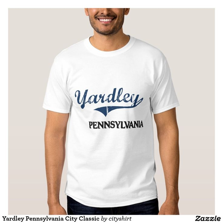 Yardley Pennsylvania City Classic Tee Shirt
