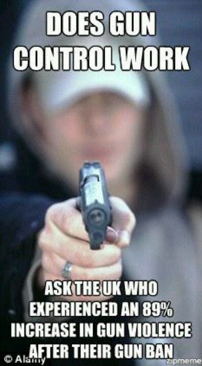 """This is true.......look it up. gun """"control"""" only means the criminals are going to be the ONLY ones with guns."""