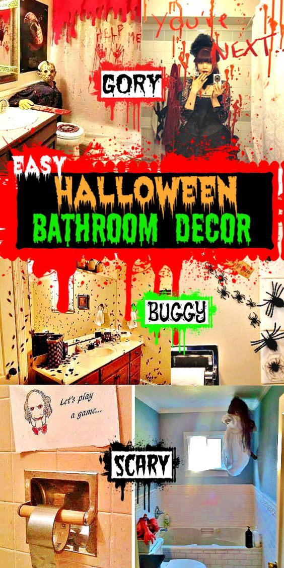 Halloween Bathroom Decorations That\u0027ll Scare The Crap Out Of Them