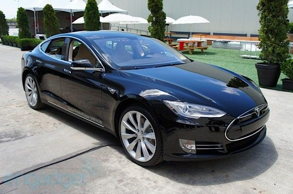 Tesla Model S first drive: the sports sedan goes electric (update: video) -- Engadget. For Zane <3