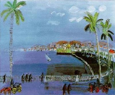 A World Elsewhere: La Promenade des Anglais, Nice by Raoul Dufy
